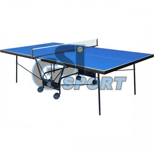 Теннисный стол GSI-Sport Compact Strong (синий), код: Gk-05