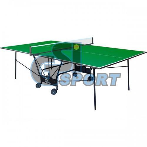Теннисный стол GSI-Sport Compact Light (зеленый), код: GP-04